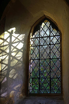 Sutton Photograph - Light In A Church by Rumyana Whitcher