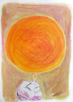 Pastel Painting - Light by Keshava Shukla