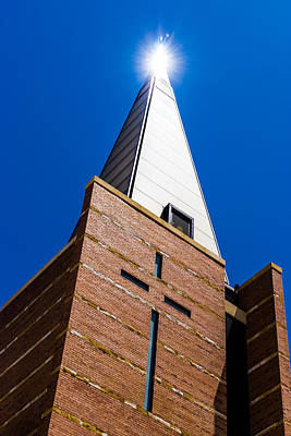 Australia Photograph - Light On The Cross by Paul Donohoe