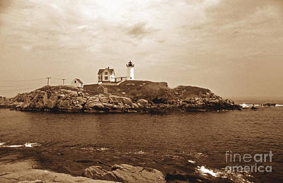 Light On The Nubble Print by Skip Willits