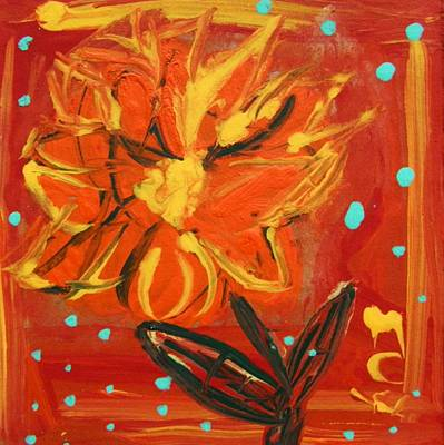 Visionary Art Drawing - Light Rain by Mary Carol Williams