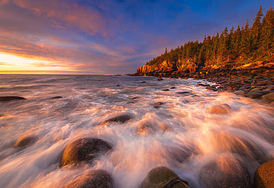 Acadia Photograph - Light Surge by Joseph Rossbach