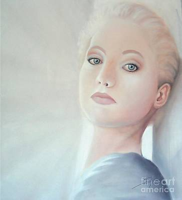 Woman Painting - Light by Susi Galloway