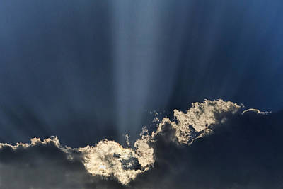 Sunlight Photograph - Light To The Heaven's by Andrew Soundarajan