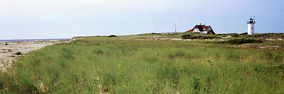 Cape Cod Photograph - Lighthouse On The Beach, Race Point by Panoramic Images