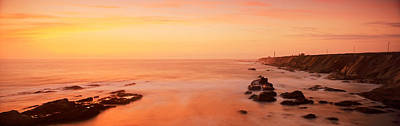 Mendocino Photograph - Lighthouse On The Coast, Point Arena by Panoramic Images