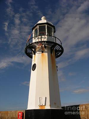 Lighthouse Digital Art - Lighthouse  by Pixel  Chimp