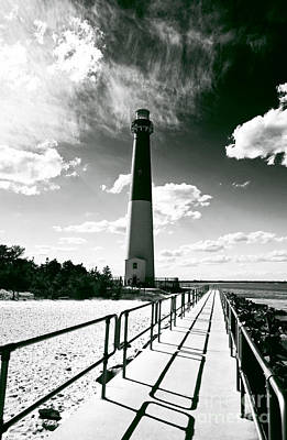 Lighthouse Walk Print by John Rizzuto