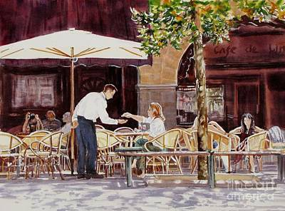 Light_in_limoux Print by Nancy Newman