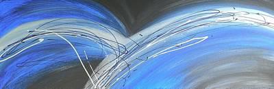 Lightning D Painting - Lightning by Kate McTavish