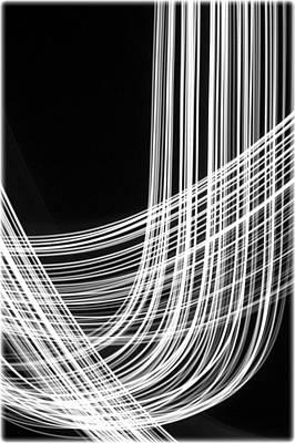 Light Photograph - Lightpainting - Fiber Optic by Dave Markman