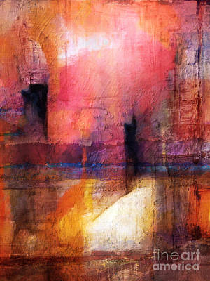 Colorfields Painting - Lightroom by Lutz Baar