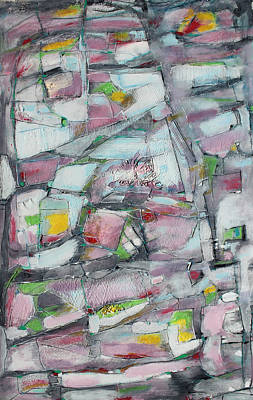 Hari E. Thomas Painting - Lights Along The Way by Hari Thomas