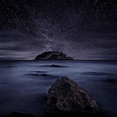 Lights Of The Past Print by Jorge Maia