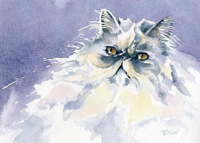 Like Cotton Candy Print by Marsha Elliott