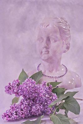 Flower Still Life Photograph - Lilac Fragrance by Sandra Foster