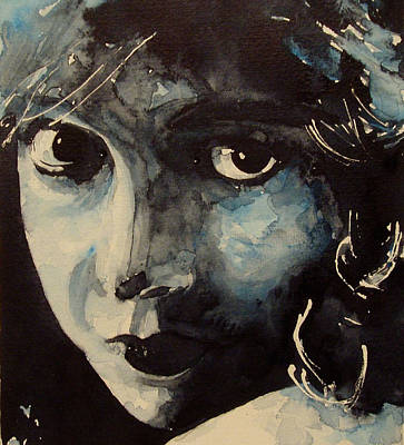 Nose Painting - Lillian Gish  by Paul Lovering