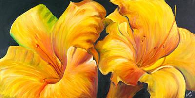 Lillies Print by Sheri  Chakamian