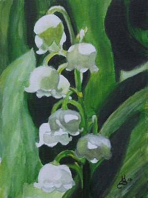 Lily Of The Valley Print by Kim Selig