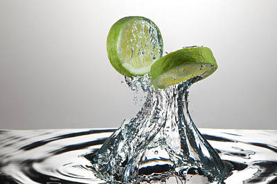Lime Freshsplash Original by Steve Gadomski