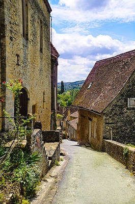 Limeuil En Perigord - France Print by Dany Lison