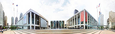 Lincoln Center Photograph - Lincoln Center Nyc by Nishanth Gopinathan