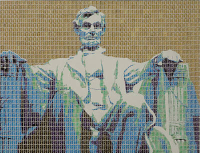 Lincoln Memorial Mixed Media - Lincoln Memorial by Gary Hogben