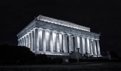 Lincoln Memorial Original by Joan Carroll