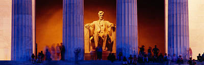 District Of Columbia Photograph - Lincoln Memorial, Washington Dc by Panoramic Images