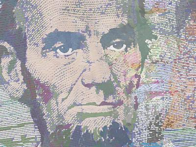 Lincoln Reimagined Horizontal Original by Tony Rubino
