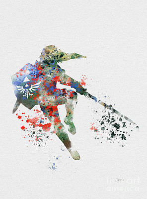 Link Print by Rebecca Jenkins