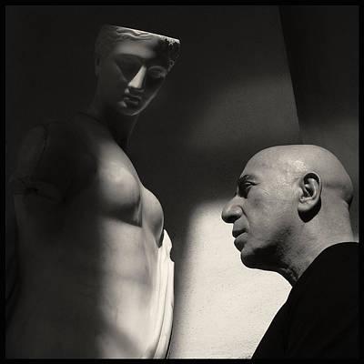 Lino Photograph - Lino Vairetti - By Augusto De Luca by Augusto De Luca fotografo