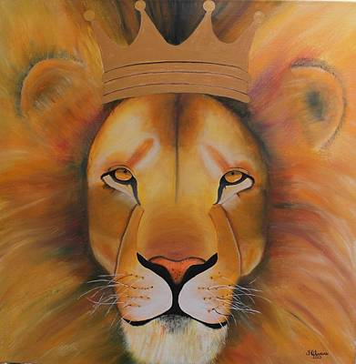 Lion Of Judah Painting - Lion Of Judah by Fabiana Oliveira