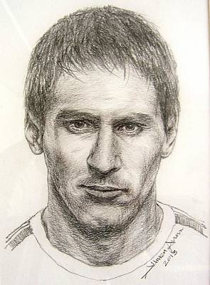 Messi Drawing - Lionel Messi by Salman Ameer