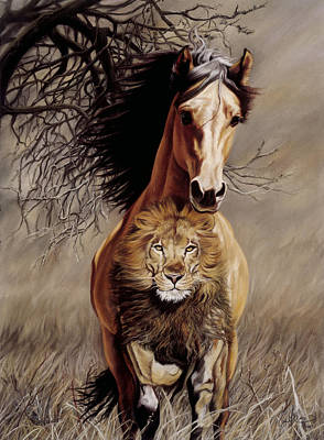 Lionheart Print by Kim McElroy