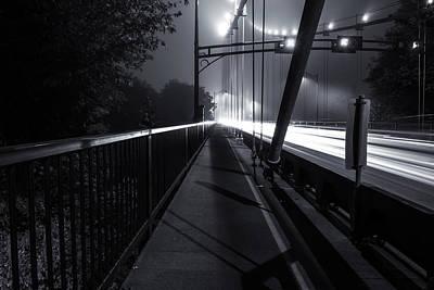 Doppelganger Photograph - Lions Gate Bridge by Alex Land