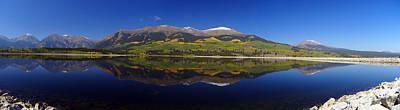 Mt. Massive Photograph - Liquid Mirror Panorama by Jeremy Rhoades