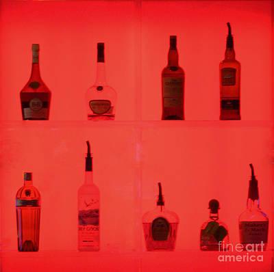 Liquor In Red 1 Original by Steven Parker