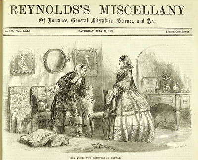 Reynolds Photograph - Lisa Visits The Countess Of Bedale by British Library