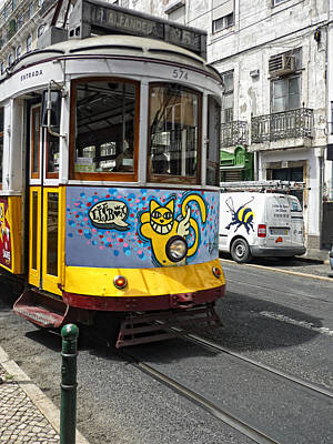 Streetcar Photograph - Lisboa by Joachim G Pinkawa