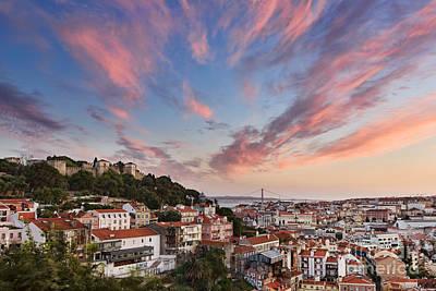 Lisbon Print by Rod McLean