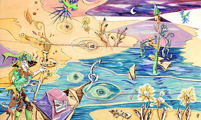 Pyrography Painting - L'isola Che C'e - Poveglia Per Tutti by Arte Venezia