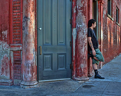 East Village Photograph - Listen To The Music by Nikolyn McDonald