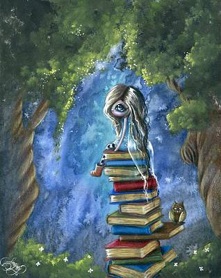 Whimsy Mixed Media - Literary Dream by Sour Taffy