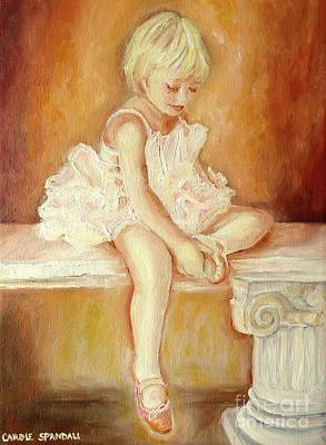 Montreal Painting - Little Ballerina by Carole Spandau