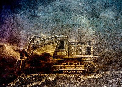 Surreal Photograph - Little Big Truck by Bob Orsillo