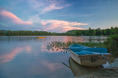 Maine Landscape Photograph - Little Blue by Darylann Leonard Photography