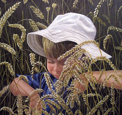 Little Boy Blue Original by Roseann Gilmore