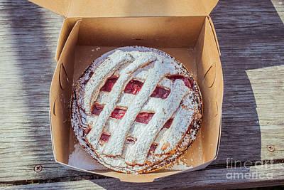 Little Cherry Pie Print by Edward Fielding