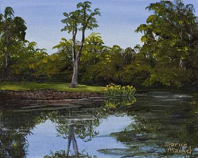 Little Chico Pond Print by Darice Machel McGuire